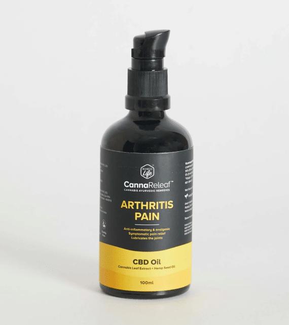 CannaReleaf™ - Arthritis Pain CBD Oil - 100ml