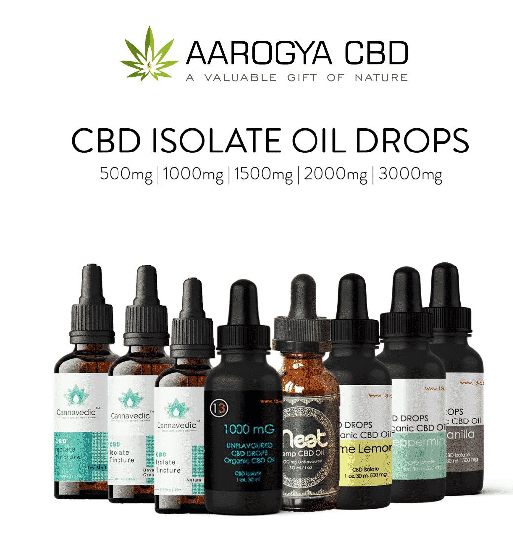 CBD Isolate Oil Drops