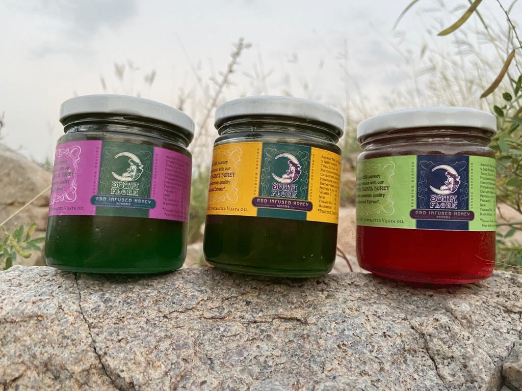Soma Flora CBD Oil Infused Honey