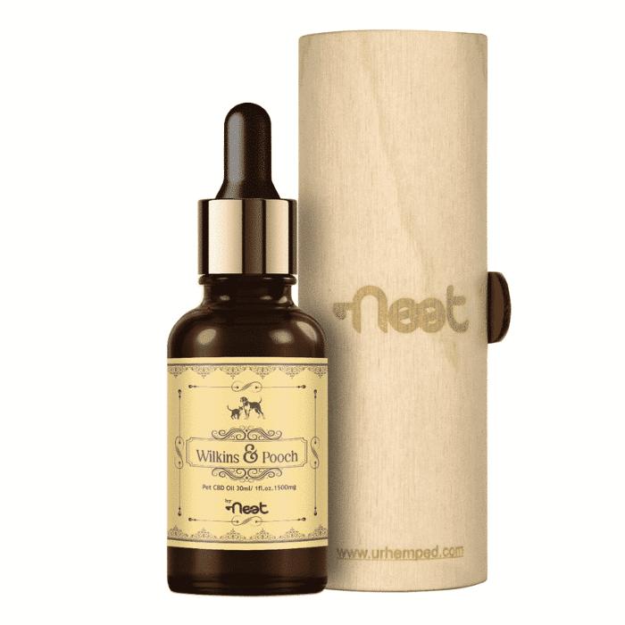 Neet Wilkins & Pooch Broad Spectrum Pet CBD Oil – 1500mg