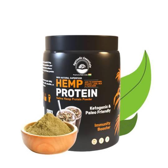 Ayurvedic Essentials Hemp Protein Powder 500 Gm