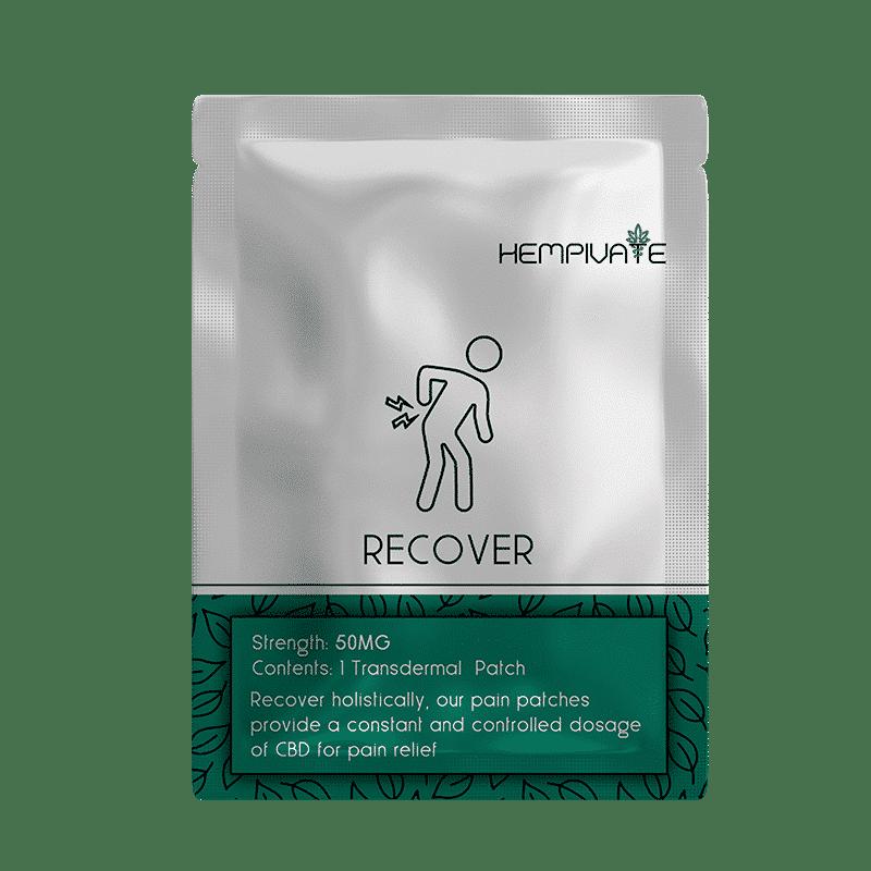 Hempivate CBD Transdermal Patch Recover