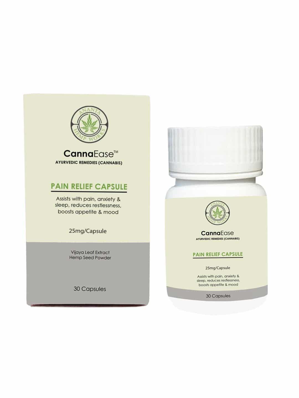 CannaEase Pain Relief Capsules