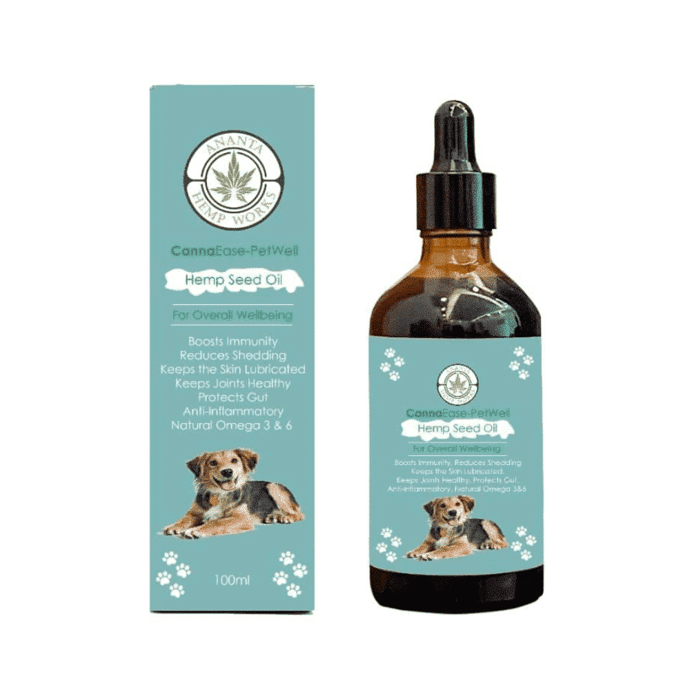 Cannaease Petwell Hemp Seed Oil for Dog